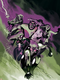 Fear Itself: The Home Front No7 Cover: Speedball  Spider-Girl  and X-23
