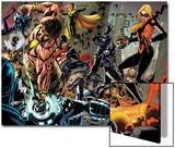 Realm of Kings Inhumans No2 Group: Wasp  Hercules  US Agent  Vision and Stature
