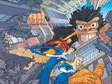 Fantastic Four/Iron Man: Big in Japan No2 Cover: Mr Fantastic