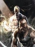 Thunderbolts No137 Cover: Iron Fist  Cage and Luke