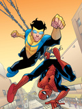 Marvel Team-Up 14 Cover: Spider-Man and Invincible
