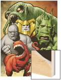 Marvel Monsters: Ulysses Bloodstone Group: Red Ronin and Fin Fang Foom