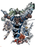 Nick Furys Howling Commandos No1 Cover: Warwolf