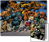 Marvel: Monsters On The Prowl No1 Group: Fin Fang Foom  Mole Man  Moloids and Goom
