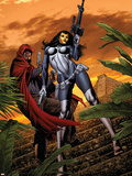 House of M: Masters of Evil No3 Cover: The Hood and Madame Masque