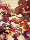 Secret Invasion: Front Line No5 Cover: Thor  Spider-Man  Captain America and Wolverine
