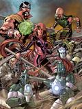 The Thanos Imperative: Devestation No1: Medusa  Gorgon and Karnak