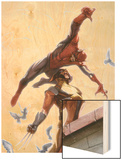 Secret Invasion No7 Cover: Spider-Man and Wolverine