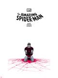 The Amazing Spider-Man No655 Cover: Spider-Man Kneeling