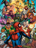 Spider-Man & The Secret Wars No2 Cover: Spider-Man