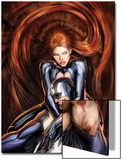 Secret Invasion: Inhumans No4 Cover: Black Bolt and Medusa