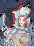 Spider-Man Loves Mary Jane No4 Cover: Spider-Man  and Mary Jane Watson