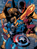 Marvel Knights Spider-Man No11 Group: Captain America