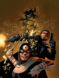 Punisher Vs Bullseye No5 Cover: Punisher and Bullseye