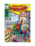 Amazing Spider-Man No92 Cover: Spider-Man  Stacy  Gwen and Iceman