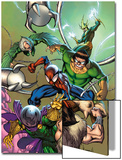 Marvel Adventures Spider-Man No17 Cover: Spider-Man  Doctor Octopus  Kraven The Hunter and Others