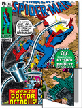 Amazing Spider-Man No88 Cover: Spider-Man and Doctor Octopus