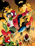 Ultimatum: Spider-Man Requiem No2 Cover: Spider-Man Jumping