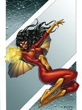 Giant-Size Spider-Woman No1 Cover: Spider Woman
