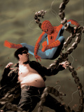 Spider-Man/Doctor Octopus: Year One No5 Cover: Spider-Man and Doctor Octopus