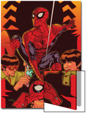 Spider-Man: With Great Power&No5 Cover: Spider-Man  Peter Parker