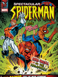 Spectacular Spider-Man No114 Cover: Spider-Man  Captain Britain and Red Skull