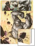 Ultimate Fallout No3: Panels with Hulk Smashing