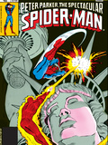The Spectacular Spider-Man Cover: Spider-Man  Peter Parker  and Human Torch