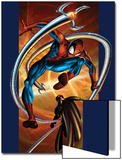Ultimate Spider-Man No57 Cover: Spider-Man and Doctor Octopus