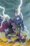Thor: God of Thunder 9 Cover: Odin  Thor