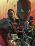 What if Spider-Man: House of M No1 Cover: Spider-Man and Green Goblin