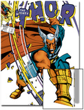 The Mighty Thor No.337 Cover: Beta-Ray Bill Acrylique par Walt Simonson