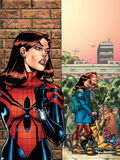 Amazing Spider-Girl No26 Cover: Spider-Girl