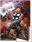 Ultimate Thor No1 Cover: Thor Posing