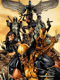 Wolverine: The Road to Hell No1 Cover: Wolverine  X-23  Deadpool  Psylocke  Archangel  & Fantomax
