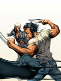 Ultimate X-Men No67 Cover: Wolverine and Storm