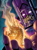 Stormbreaker: Beta Ray Bill No4 Cover: Galactus and Stardust