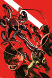 Superior Spider-Man Team-Up Special 1 Cover: Spider-Man  Doctor Octopus  Beast  Iceman  Grey  Jean