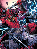 Thor No8 Group: Odin  Surtur and Thor