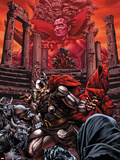 Thor No614 Cover: Thor and Mephisto Fighting