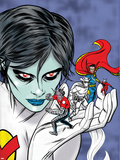 X-Statix Presents: Dead Girl No2 Cover: Dr Strange  Dead Girl and Phantom Rider Fighting