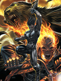 X-Force No10 Cover: Warpath and Ghost Rider