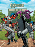 Marvel Adventures Spider-Man No34 Cover: Spider-Man and Green Goblin