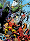 Exiles No43 Group: Hyperion  Hulk and Spider-Man