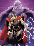 The Mighty Thor No2 Cover: Thor and Odin