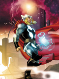 Thor No615 Cover: Thor Walking