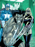 Wolverine Captain America No3 Group: Wolverine  Captain America and Warbird