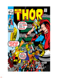 Thor No181 Cover: Thor and Balder