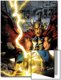 Thor: First Thunder No3 Cover: Thor Smashing
