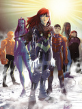 Generation Hope No5 Cover: Hope Summers  Laurie Tromette  Gabriel Cohuelo  Idie Okonkwo and Others